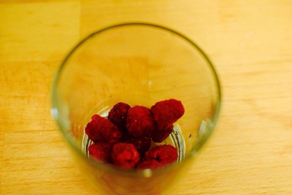 raspberries-in-glass